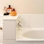 Badezimmer mit allem Komfort