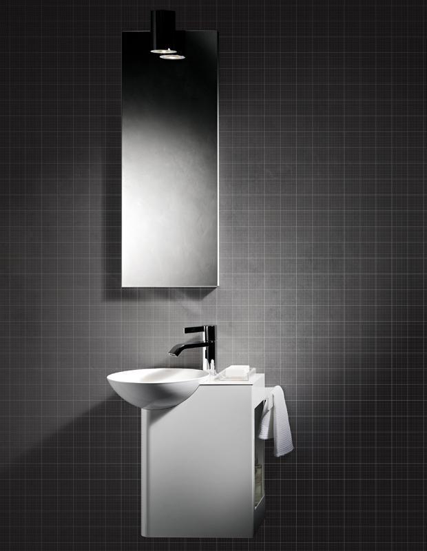 So individuell kann klein sein - 3m² Gäste-WC | Schramm | München ...