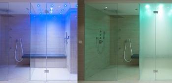 Jede Dusche kann zur Dampfdusche werden