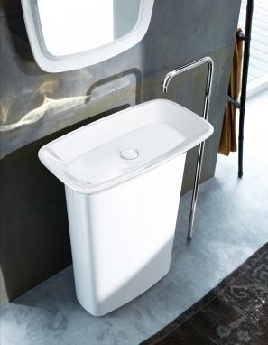 Schlanke Proportionen und maximale Balance: Das ist das neue max 1 von burgbad. Mit den passenden Badmöbeln entsteht eine große Vielfalt an Gestaltungsmöglichkeiten.