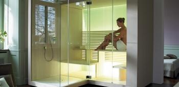 Dampfbad und Sauna