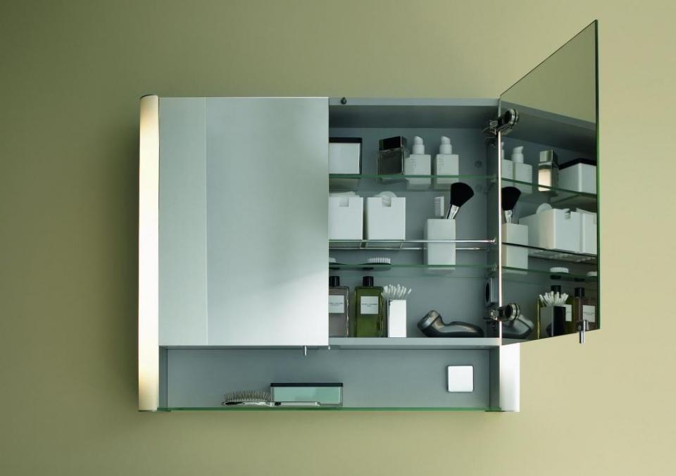Praktische Spiegelschränke für mehr Stauraum im Bad ...