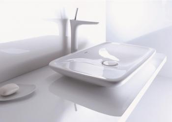 Die Oberflächen der PuraVida-Badmöbel sind in weiß, rot, schwarz und Ebenholz (Echtholzfurnier) erhältlich.