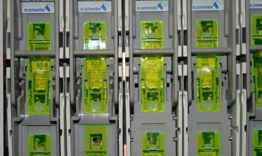 Elektroanlage für Großmarkt in München