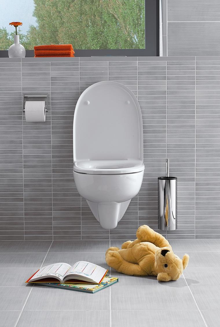 Die Madera-Fliesen von Jasba mit HT-Veredelung sind gerade im Bad äußerst hygienisch, langlebig und lassen sich leicht reinigen.