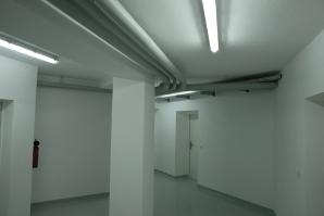 Alle Versorgungs- und Entsorgungsleitungen an der Decke und auch im Boden wurden erneuert