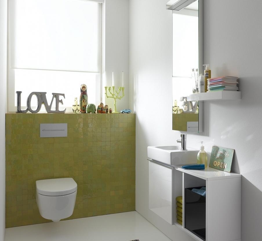 iCon xs: Klarheit in der Gäste-Toilette.