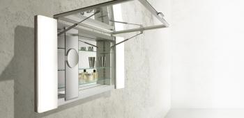 Praktische Spiegelschränke für mehr Stauraum im Bad