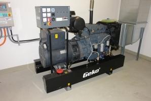 Nachrüstung eines Notstromgenerators zur Notversorgung.