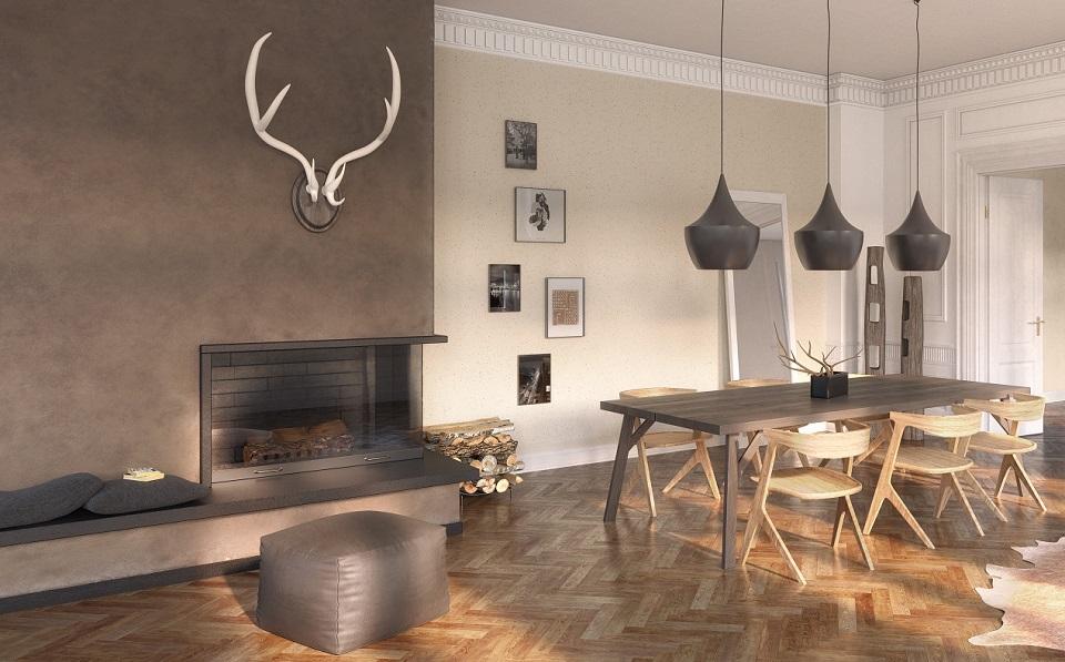 Mit StoCalce Functio können Sie Ihre Räume mit natürlichen Produkten neu gestalten