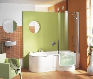 Ob entspannende Dusche, komfortables Bad oder belebender Whirlpool, die Artweger Twinline lässt sich ideal in kleinste Räume integrieren, ohne an Komfort zu sparen.