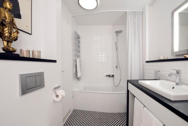 Ob Duschen oder Baden - für die Kunden ist beides jederzeit möglich.